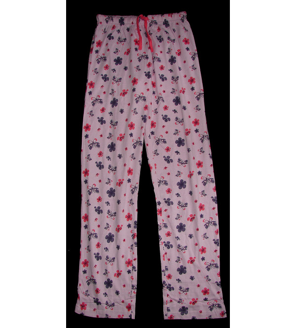 Ladies Floral Printed Night Pant