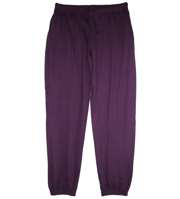 Ladies Knit Jogger Bottoms