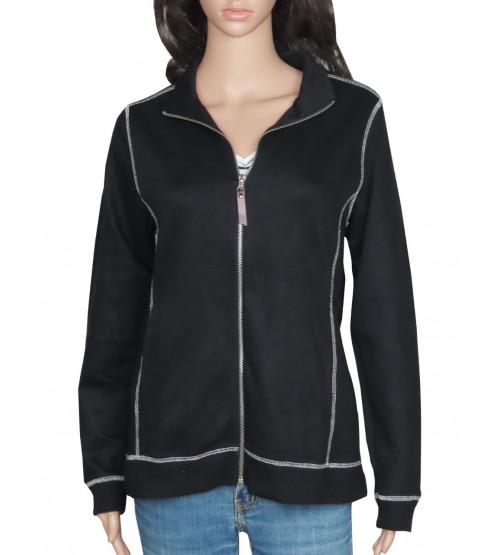 Ladies Fleece Fullzipper Sweatshirt