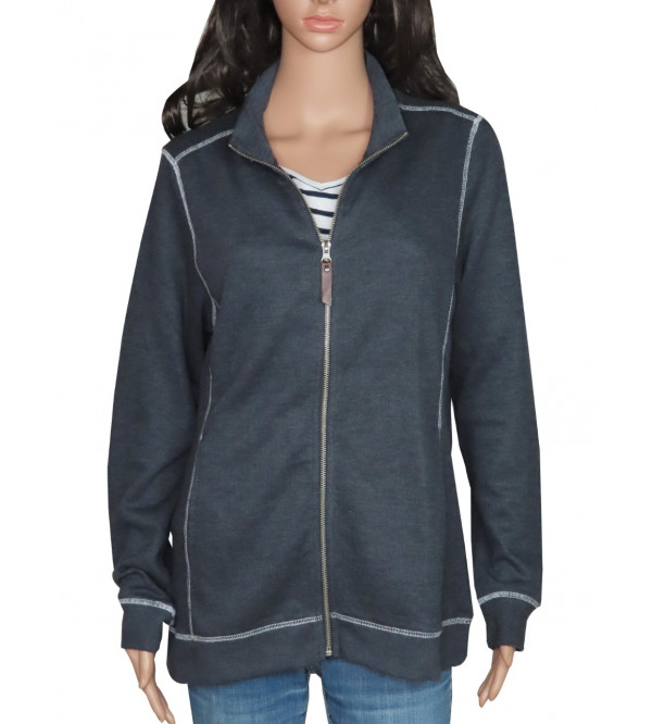 Ladies Fleece Fullzipper Sweatshirts