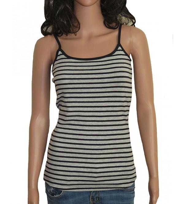 Ladies Stretch Striped n Printed Camisole