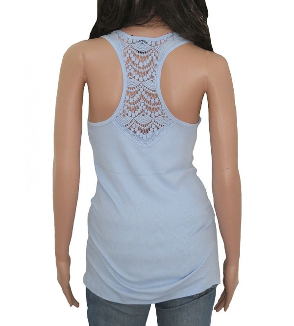Ladies Stretch Racer Back Vest (Crochet)
