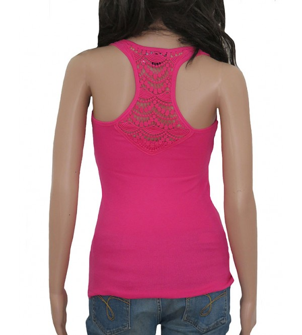 Ladies Stretch Racer Back Vest (Crochet)