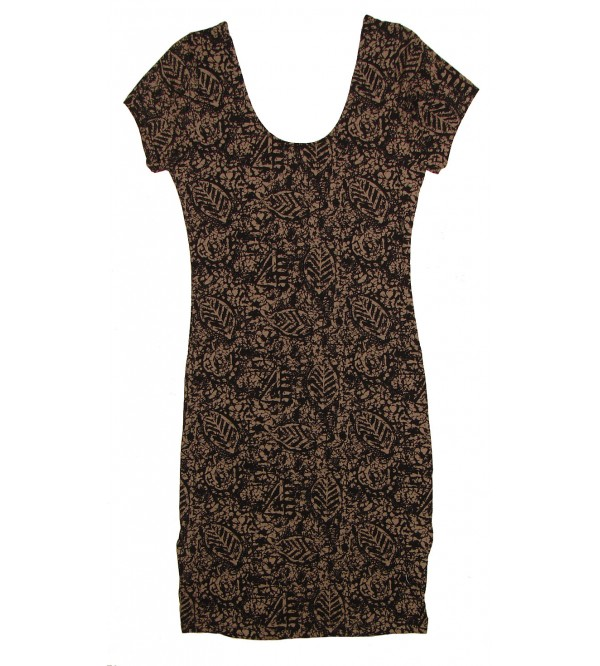 Ladies eometric print dress