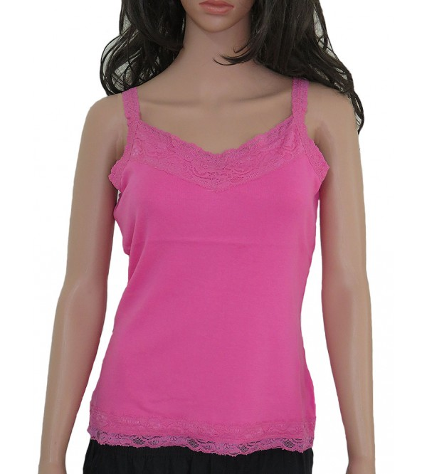 Ladies Lace Tank Tops