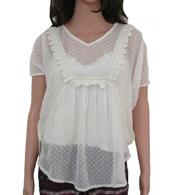 Ladies Poncho Crochet Top