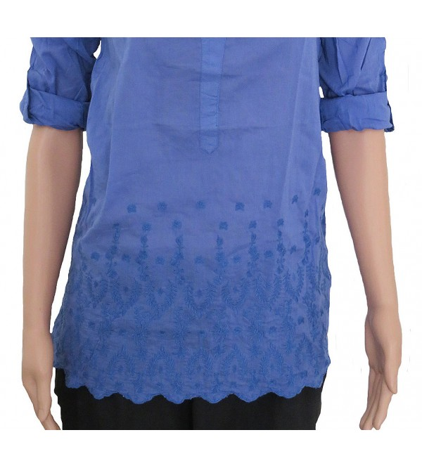 Ladies Woven Blouse (Tie feature)