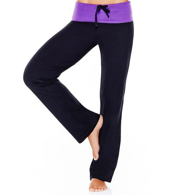 Ladies Stretch Organic Yoga Bottoms