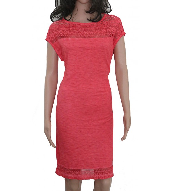 Ladies Knit CPD Dress (With Crochet)
