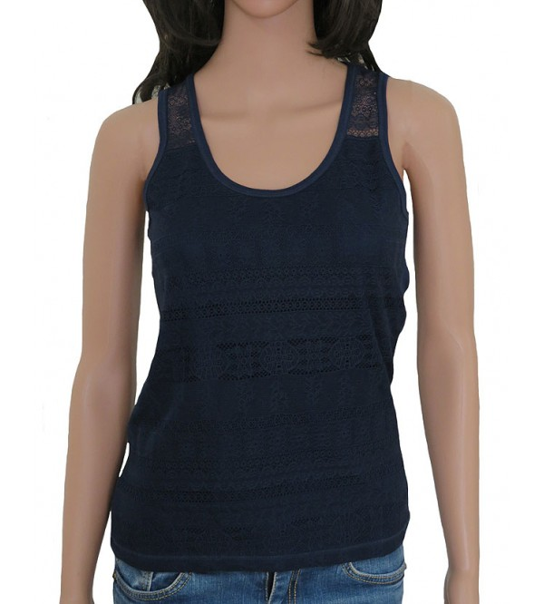 Ladies Fashion Lace Tanks