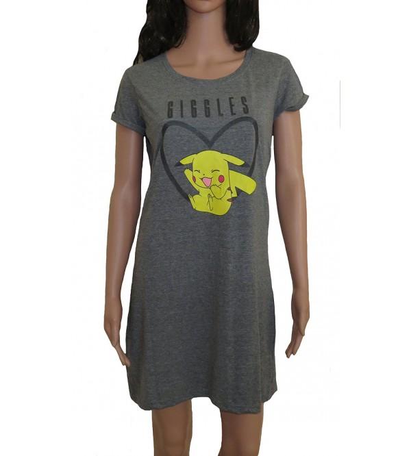 Ladies Printed Night Shirts