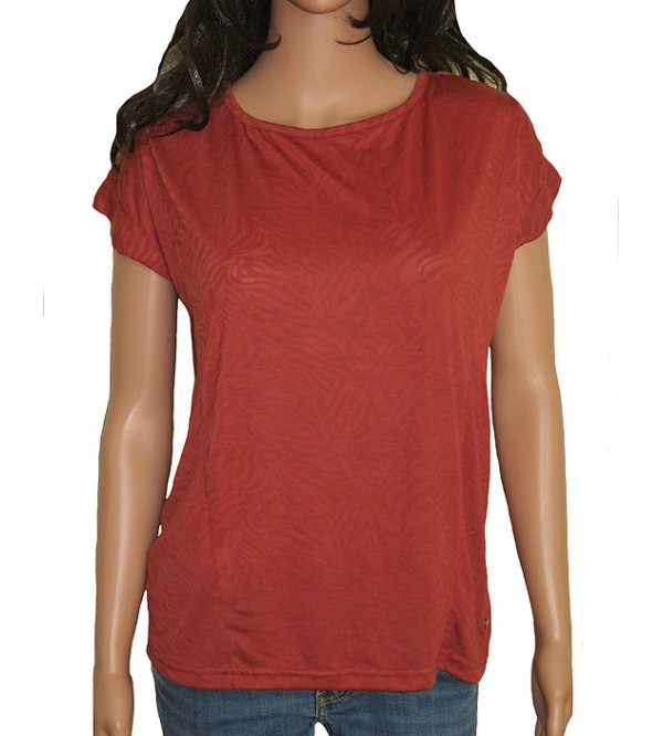 Ladies Viscose Burnout Tops