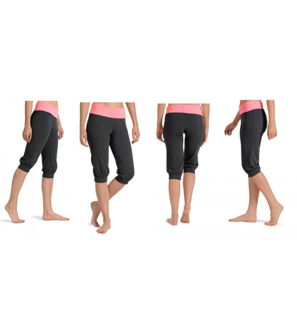 Ladies Stretch Yoga Capri Organic