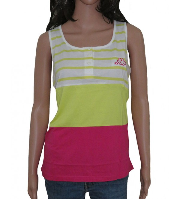 Ladies Sleeveless Henley Neck Fancy Top