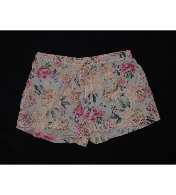 Ladies Printed Woven Shorts