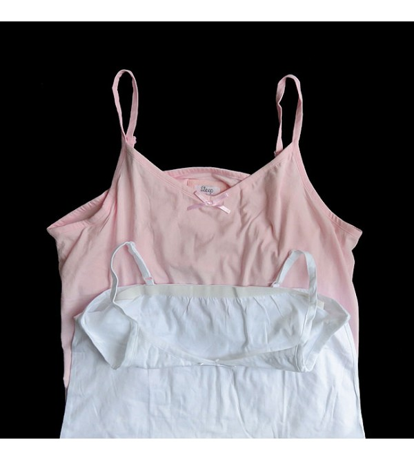 Ladies Oversize Stretch Tank Top With Inner Support