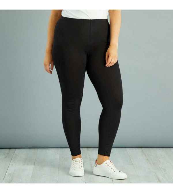 Ladies Oversize Stretch Ankle Legging
