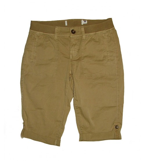 Ladies Washed Casual Woven Shorts