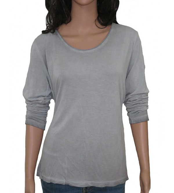Ladies Cold Pigment Dyed Fancy T Shirts