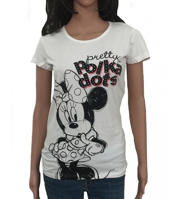DiSNEY Ladies Short Sleeve Printed T Shirt