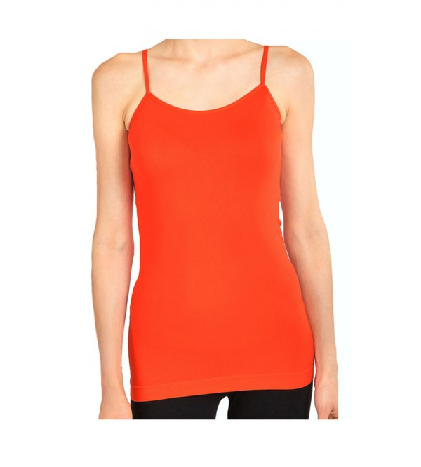 Ladies Stretch Adjustable Strap Tanks