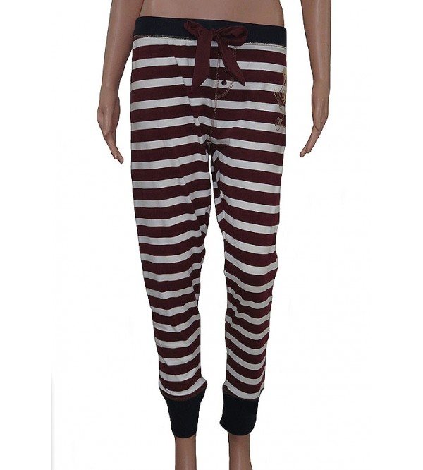 Harry Potter Ladies Striped Stretch Night Pant
