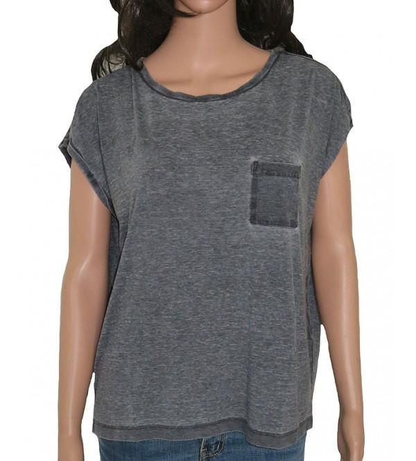 Ladies Burnout Magyar Sleeve Tops