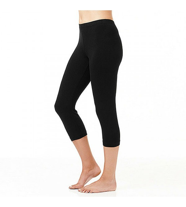Ladies Stretch Capri Leggings