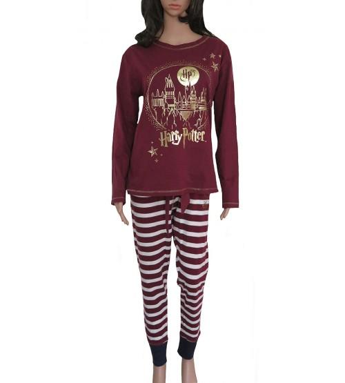Harry Potter Ladies Printed Knit Pyjama Sets