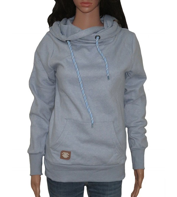 Ladies Hooded Pullover Sweatshirts
