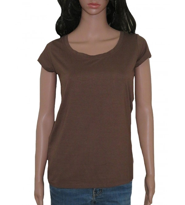 Ladies Viscose Short Sleeve  T Shirt