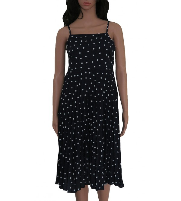 Ladies Polka dot Strappy Dress