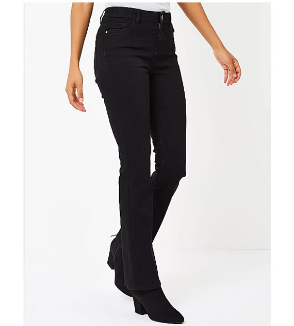 Ladies Regular Fit Stretchable Jeans