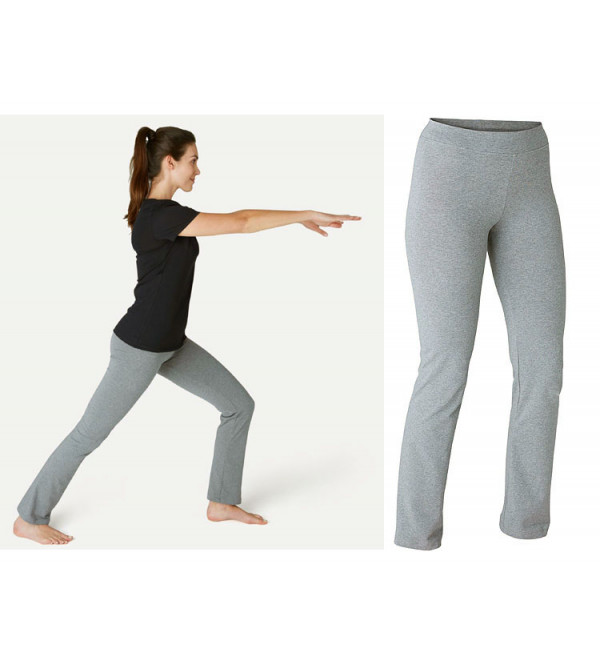 DECATHLON Ladies Gym Pilates Stretch Leggings