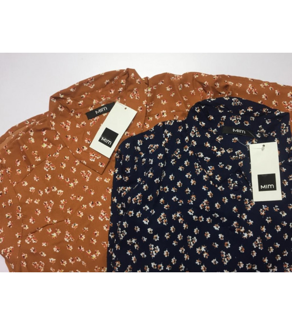 Ladies Polyester Woven Shirts