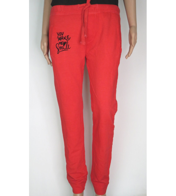 Ladies Washed  Jogger