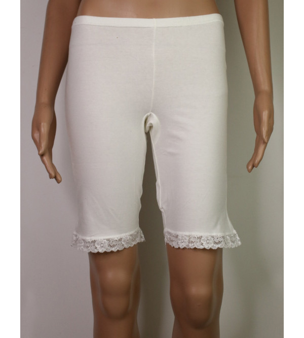 Ladies Stretch Knickers With Lace