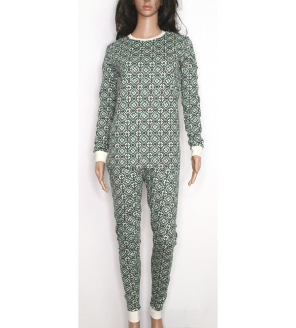 Ladies Printed Pyjama Set