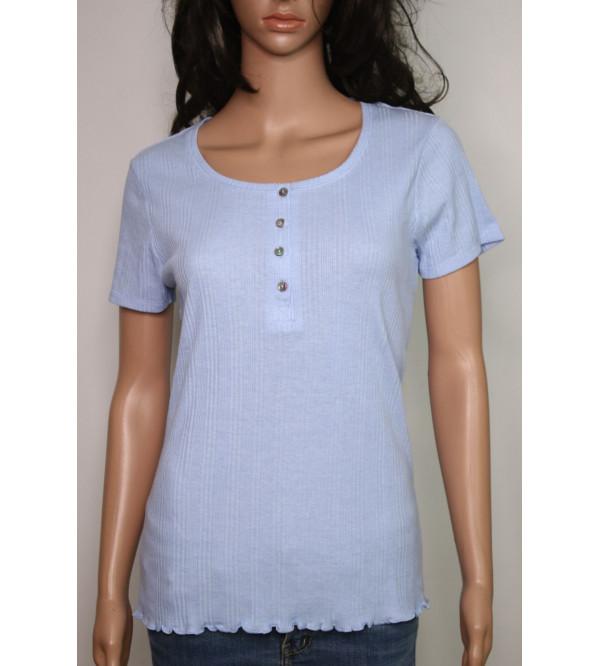 Ladies Drop Needle T Shirt