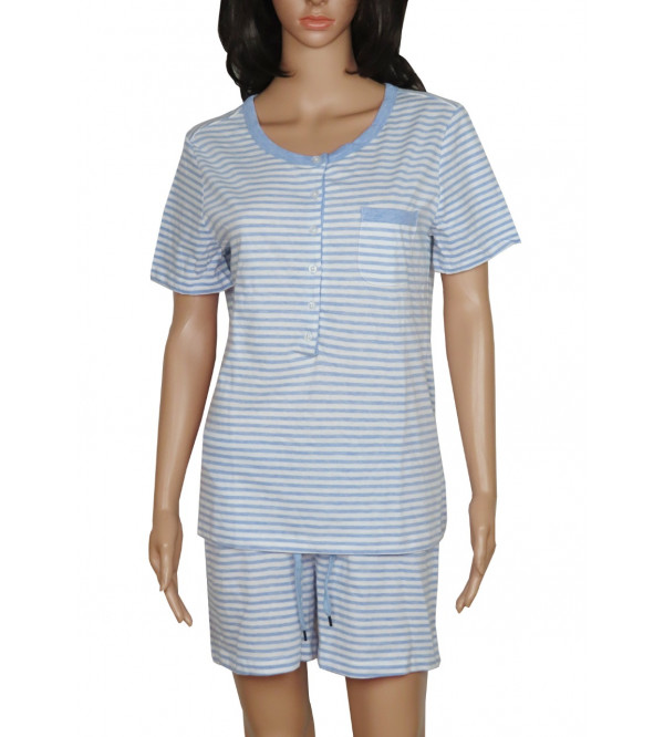Ladies Shorty Pyjama Set