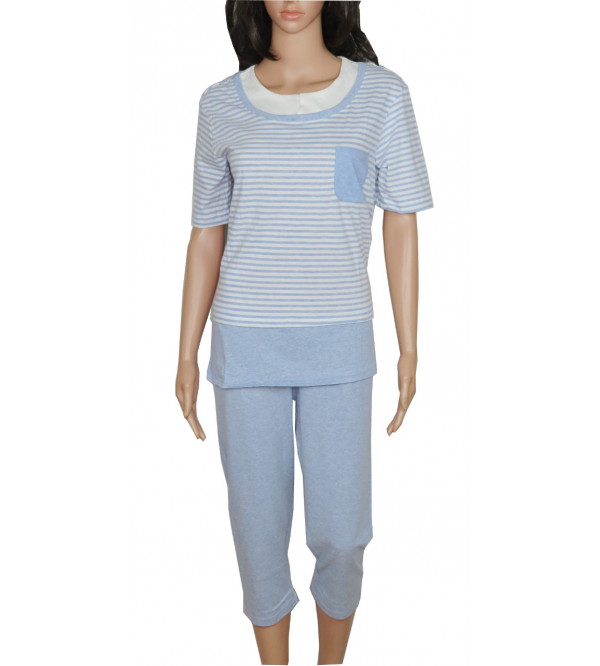 Ladies Capri Pyjama Set