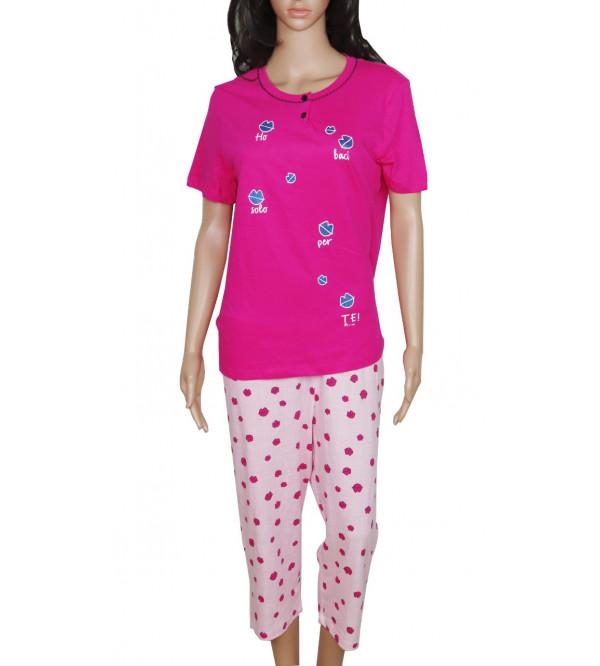 Ladies Capri Pyjama Set