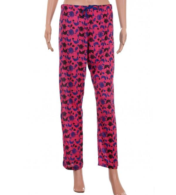 Ladies Printed Night Pant