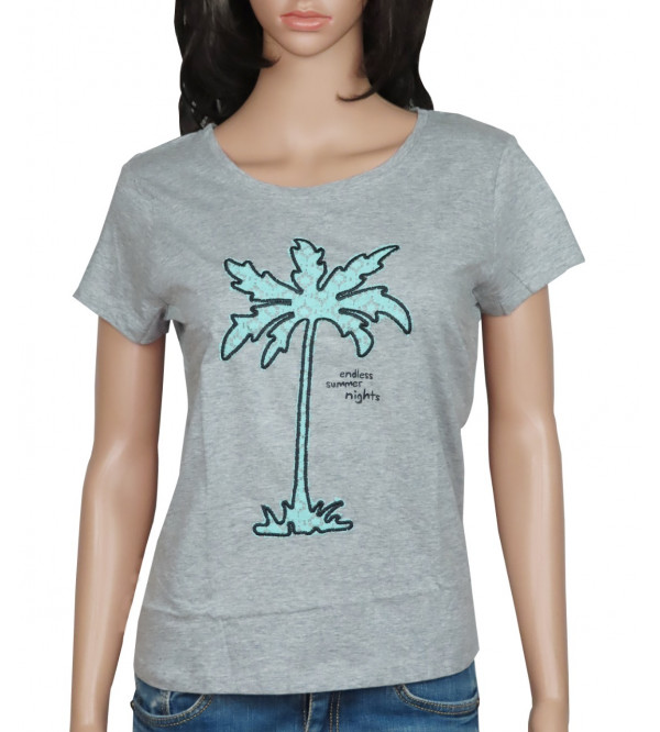 Ladies Printed and Applique T Shirts