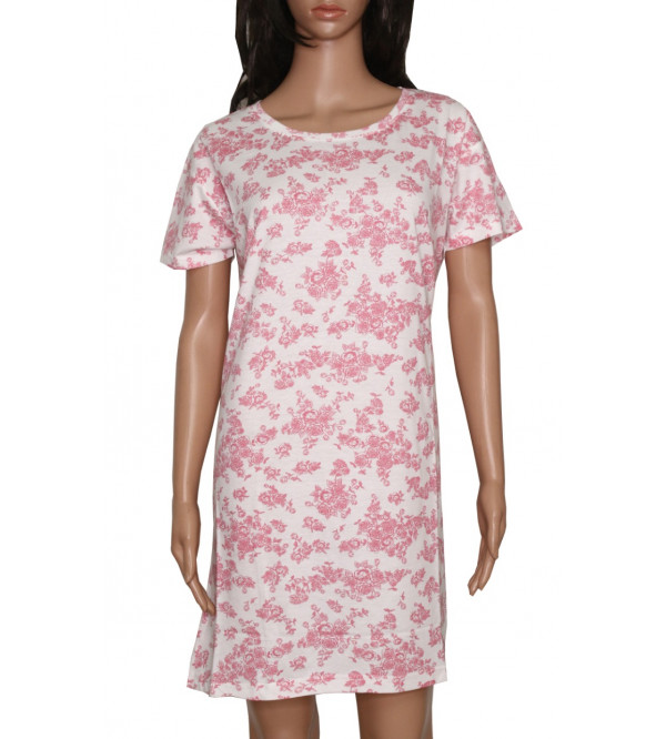 Ladies Printed Nightshirt