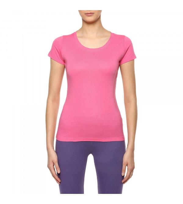 Ladies Sporty Fitness T Shirts