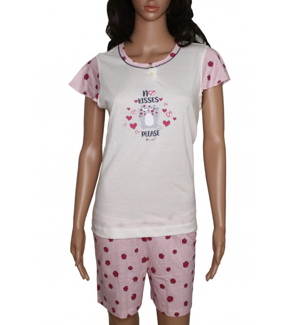Ladies Shorty Pyjama Set Box Packaged