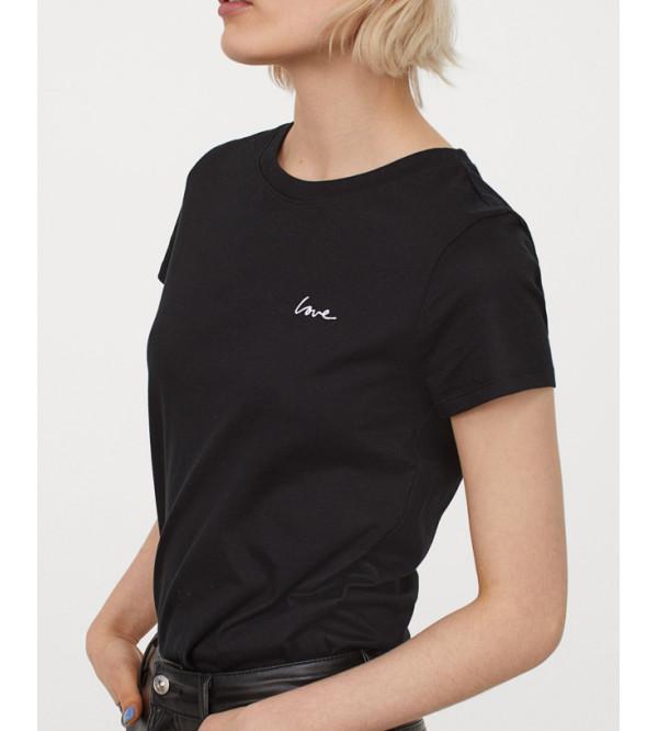 Ladies Crew Neck T Shirt