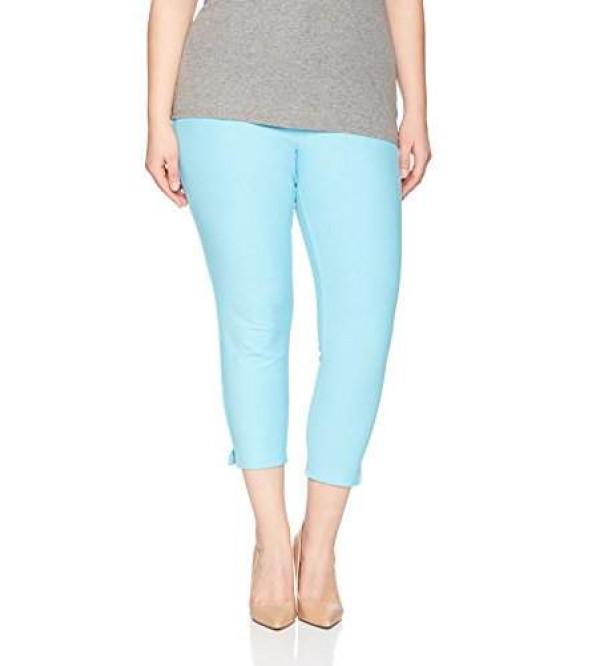 Ladies Oversize Stretch Capri Legging