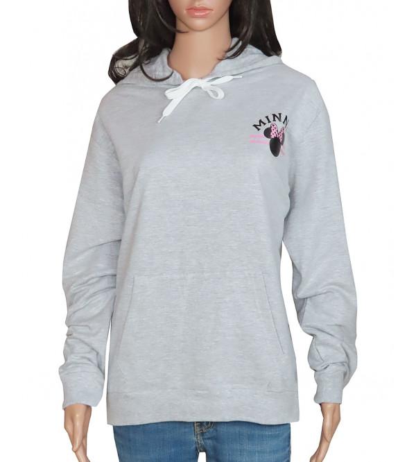 DiSNEY Ladies Over Size Pullover Sweatshirt
